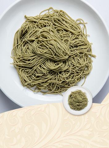 【1.5mm oolong tea noodles】