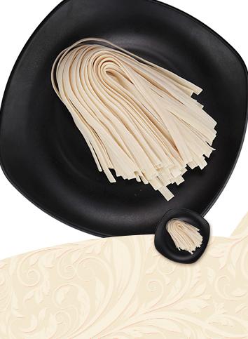 【Half - dried noodles - sliced noodles】