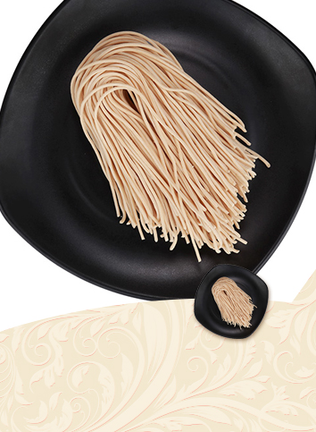 【Half - dry - carrot noodles】