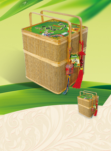 【Kangfu royal product dragon cast】Gift baskets