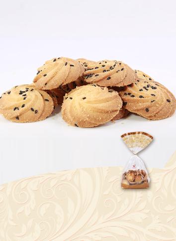 【Black sesame cookie】